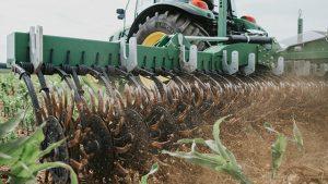 Vorschau - Rotary Hoe - CFS Cross Farm Solution Rollhacke im Mais